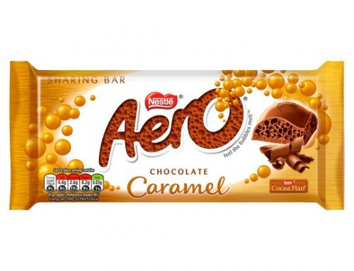Nestle Aero Caramel Block 90g